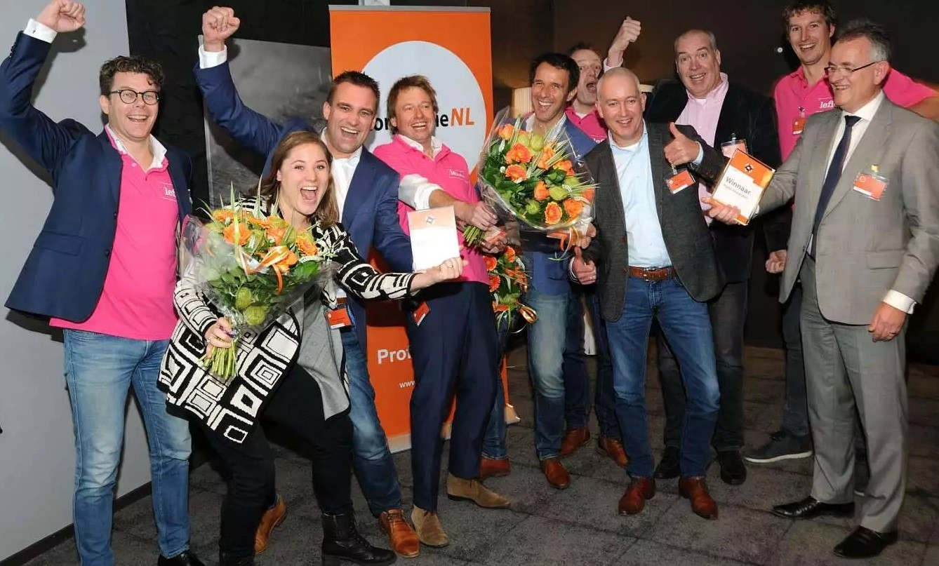 WoonConnect winnaar Digital Award 2017